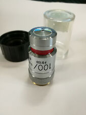 lens for a microscope 100Х+PH3 OIL Великобритания VICKERS  MICROPLAN