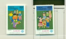 EUROPA CEPT - TURKEY 1989 Childrens' Games