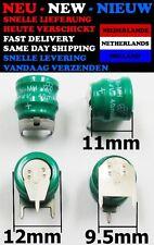 Ni-MH 2.4V - 40mAh Knopfzellen 40mAh Akkupack 3-Pin Bateria Backup Pile Battery