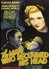 Man Who Reclaimed His Head (1934)- Claude Rains, Atwill