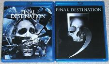 Horror Blu-ray Lot - The Final Destination (Used) Final Destination 5 (Used)