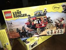 New Lego 79108 Lone Ranger Stagecoach Set