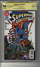 Superman Unchained (2013) # 1 Reborn Var CBCS 9.8 White Pages - SS Scott Snyder