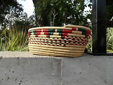 NATIVE,ESKIMO,YUPIK,OVAL BASKET