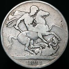 More details for 1821 | george iiii crown | silver | coins | km coins