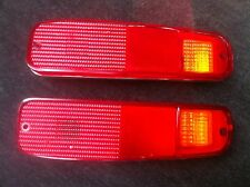 74-80 FORD F100 PARTS TAIL LIGHT PAIR L+R FOR TUB 74-80 ( WITH AMBER INDICATOR )