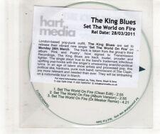 (HN526) The King Blues, Set The World On Fire - 2011 DJ CD