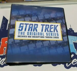 2020 Rittenhouse Star Trek Archives and Inscriptions Official Binder + P3 Promo