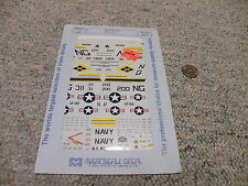 Microscale  decals 1/72 72-420 Carrier air Wing 9 F-4B VF-92 A-7E VA-146    G24