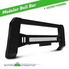 BA Mesh Modular Bull Bar 2016-2018 Nissan Titan XD Grill Guard Brush Guard Black