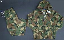 Polo Ralph Lauren Men M Camo Tracksuit Sweat Track Pants Jacket Sweat Suit NEW