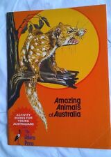 Amazing Animals of Australia - Vintage Activity Book - Jabiru Press (1978)