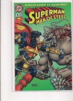 Superman Man of Steel #1 Kenner Exclusive Variant DC Comic Book.