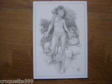 CP carte postale Postcard Illustrateur ASLAN 55 Ludivine
