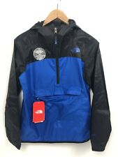 The North Face Boys Fanorak Windbreaker Jacket XL 18 20 Color Block Blue Black
