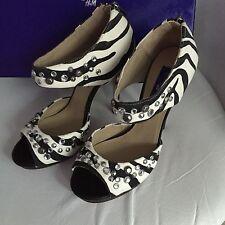 Jimmy Choo for H&M High Heels Pumps EUR Gr. 39 size US 8 UK 6 Zebra Design Neu