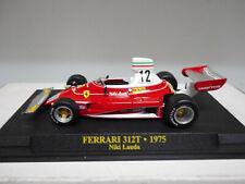 FERRARI 312 T 1975 NIKI LAUDA FORMULA F1 IXO 1/43 HARD BOX
