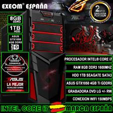 Pc Gaming Intel Core i5 8 GB RAM GTX 1050 ti