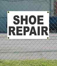 2x3 SHOE REPAIR Black & White Banner Sign NEW Discount Size & Price FREE SHIP
