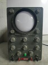 Vintage Heathkit Laboratory Oscilloscope Model 0 12
