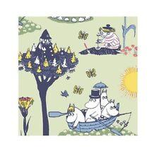 Moomin Servilletas de papel pellinki VERDE 20 piezas 24 x 24cm