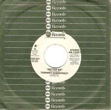 "TOMMY OVERSTREET Better Me 7"" Single Vinyl Record 45rpm Promo US ABC 1978 EX"