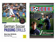 German Soccer Passing Drills Book and Soccer Passing, Receiving and Heading DVD
