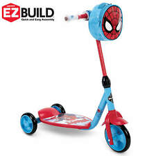Marvel Spider-Man 3-Wheel Scooter for Toddlers by Huffy Indoor Outdoor Kids New