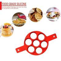 1xSilicone Nonstick Pancake Maker Mould Omelette Egg Ring Maker Mold  Tool