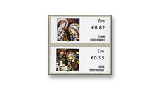IRL1022SAM Christmas self-adhesive 2 pcs. MNH IRELAND 2010