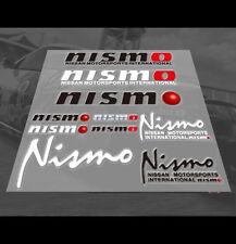 Nismo Skyline GTR R34 R35 R36 silvia JDM Car interior Window Decal Sticker set