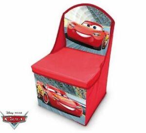 Disney Cars Hocker/ Aufbewahrungsbox 2 in 1 28 x 28 x 48 cm
