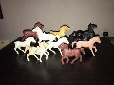 Lot of 10 Western Horses - Ajax, Tim-Mee, Lido, Payton, Processed Plastic