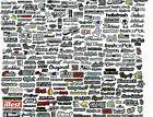 RC 1/10 DRIFT DECALS Logo Sponsors DRIFT Decals Stickers 1 Sheet *NEW* #C