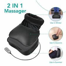 Naipo Masseur pieds Shiatsu Electrique Massage de Dos avec Chaleur Vibration