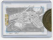 Star Trek DS9 Sketchafex Case Topper Defiant
