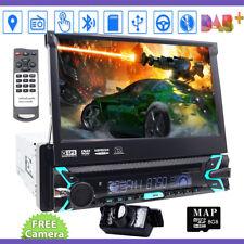 VX3016 1 DIN Bluetooth In-Dash DVD/CD/AM/FM Car Stereo Rearview Camera GPS DAB+