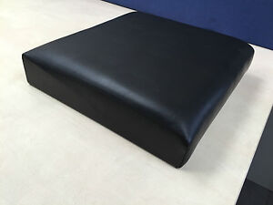 NEW GENUINE LAND ROVER SERIES 2 3 II III OUTER SEAT SQUAB BACK BLACK MUC 1520