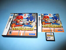 Mario & Sonic at the Olympic Games Nintendo DS Lite DSi XL 3DS w/Case & Manual