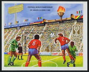 Mongolia 1472 MNH Sports, World Junior Football Champs