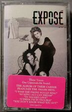 Expose':   Self-titled' (Cassette, 1992, Arista Records) NEW