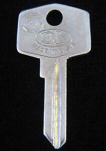 "62FS BRITISH ""FS"" IGNITION KEY BLANK 1959-69 Ign./Doors, 1970-74 Trunk FITS MANY"