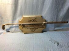 Arnold Palmer Signed Autographed 1996 The Original Golf Wood Putter Heritage JSA
