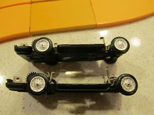 "(2) 1966 Motorific ""Custom Car"" chassis, EXC/NRMNT, no flat spots, running"