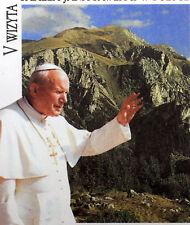 POLOGNE POLSKA  VOYAGE DU   PAPE JEAN PAUL II  Vatican Enveloppe FDC PA165