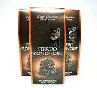 Ferrero Rocher Ferrero Rondnoir Fine Dark Chocolates Hazelnut Chocolates 3 PACK