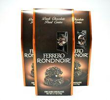 Ferrero Rocher Ferrero Rondnoir Fine Dark Chocolates Hazelnut Chocolates 3 PACK
