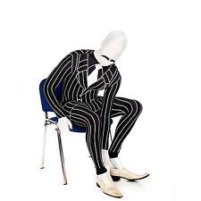 SALE Adult Gangster Morphsuit Mens Mob Suit Halloween Fancy Dress Costume Size M