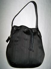 "BORSA ""GIANNI VERSACE"" LUXURY BLACK BAG MADE IN ITALY VTG 90"