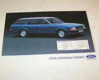 Prospekt / Broschüre Ford Granada Turnier Kombi - Ausgabe 1978